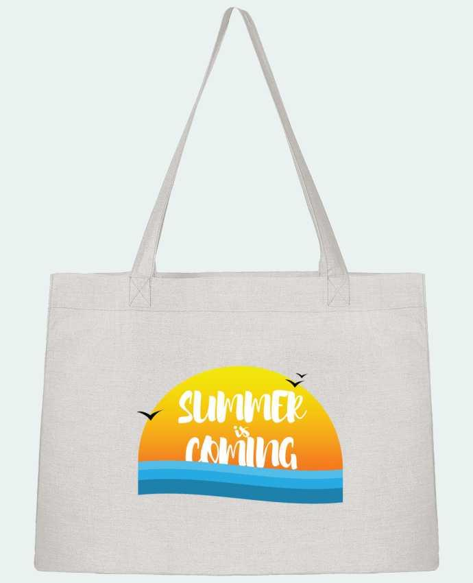 Shopping tote bag Stanley Stella Summer is coming by tunetoo