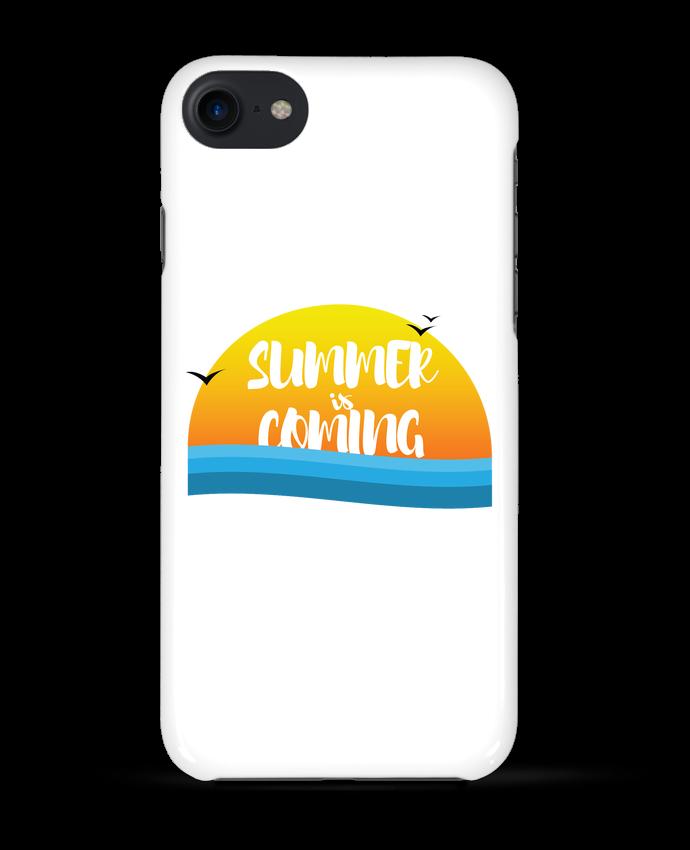 Case 3D iPhone 7 Summer is coming de tunetoo