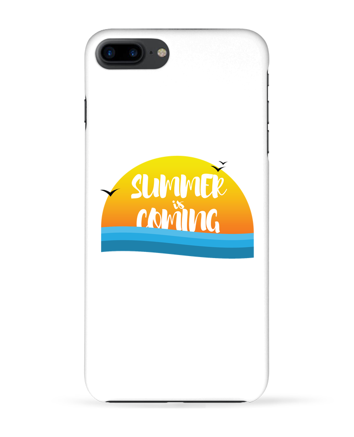 Case 3D iPhone 7+ Summer is coming by tunetoo