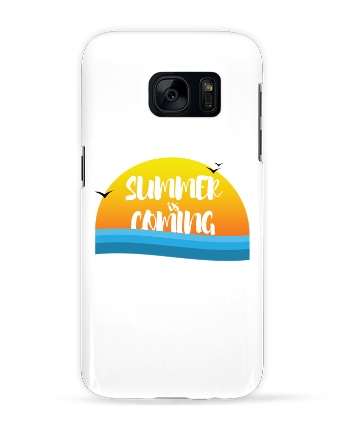 Case 3D Samsung Galaxy S7 Summer is coming by tunetoo