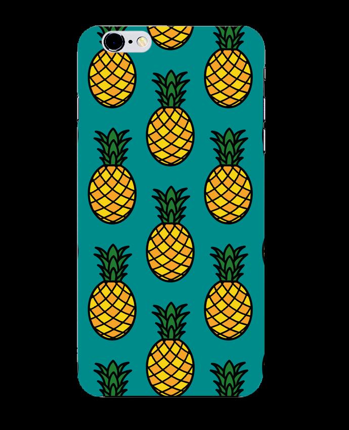 Case 3D iPhone 6+ Ananas orange de tunetoo