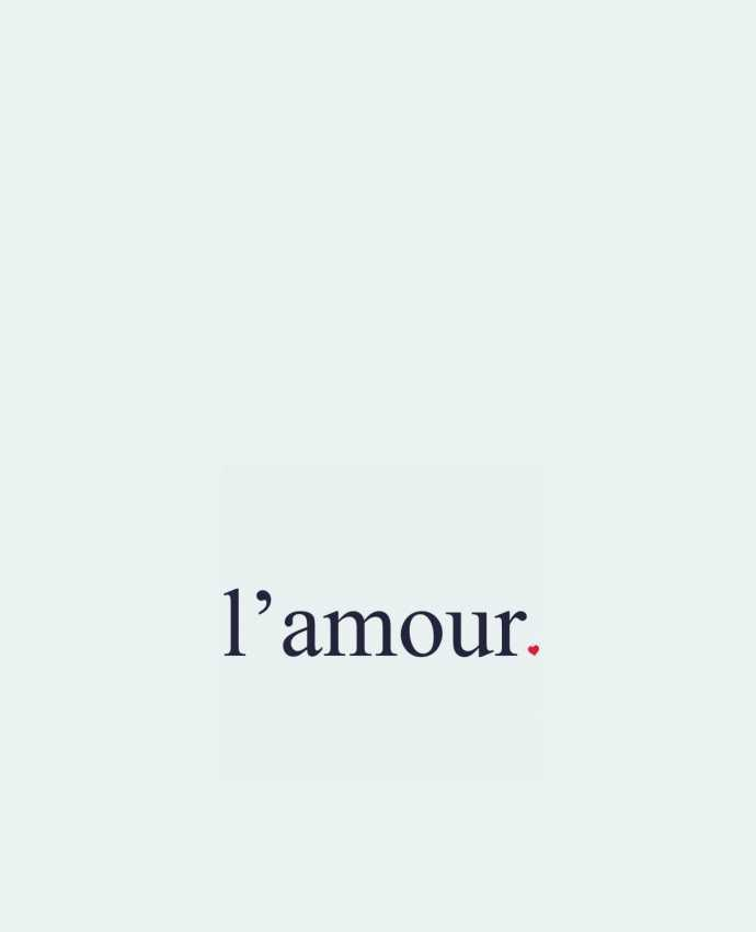 Tote Bag cotton l'amour by Ruuud by Ruuud