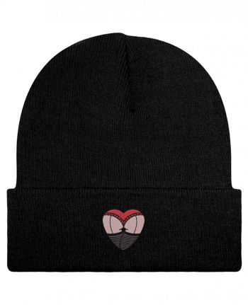 Reversible Beanie Fesses dentelle by tunetoo