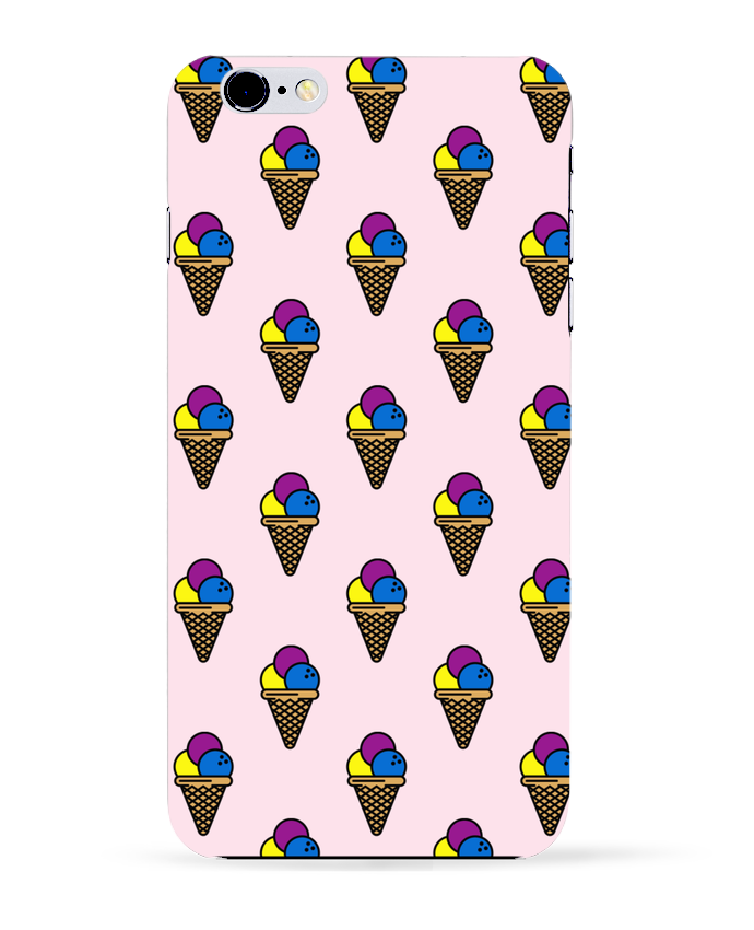 Case 3D iPhone 6+ Ice cream de tunetoo