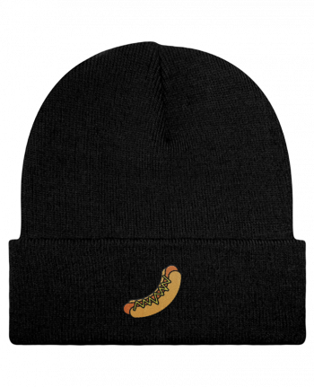 Reversible Beanie Hot dog by tunetoo