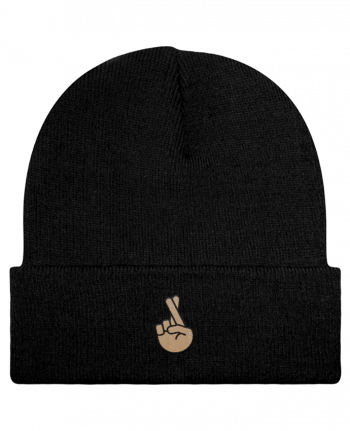 Reversible Beanie Doigts croisés white by tunetoo