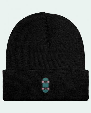Reversible Beanie Skate bleu by tunetoo