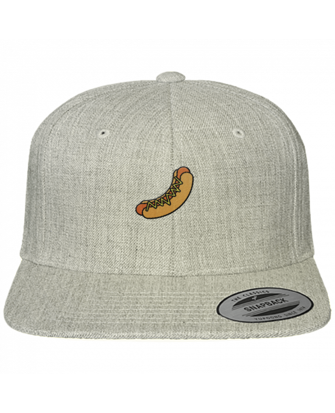 Snapback cap classique Hot dog by tunetoo