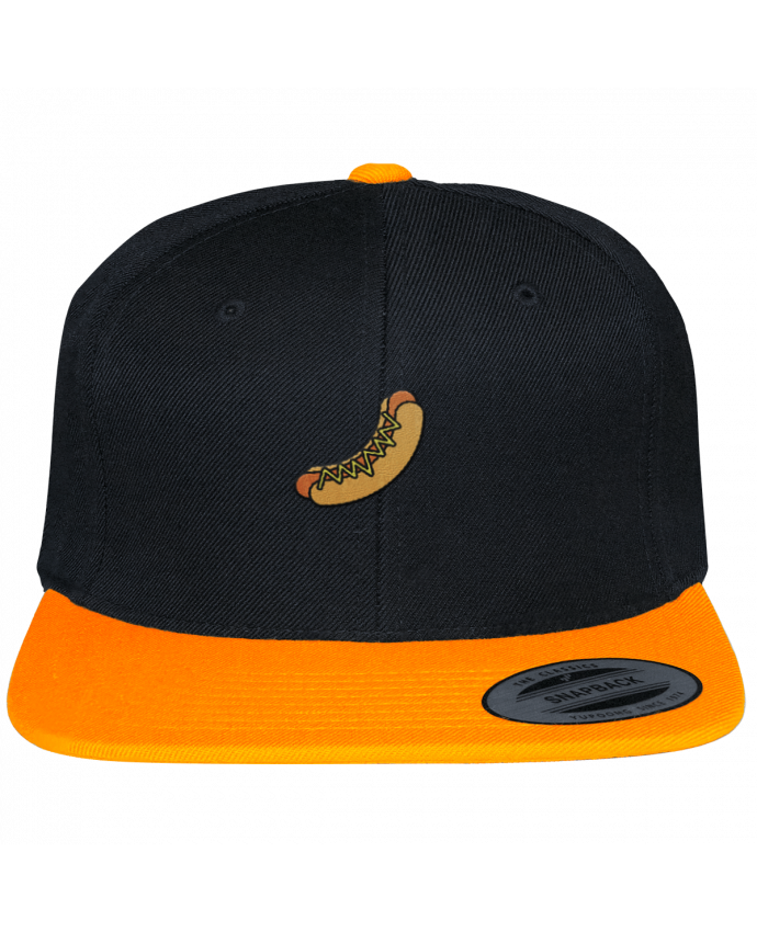 Snapback cap two-one varsity Hot dog by tunetoo