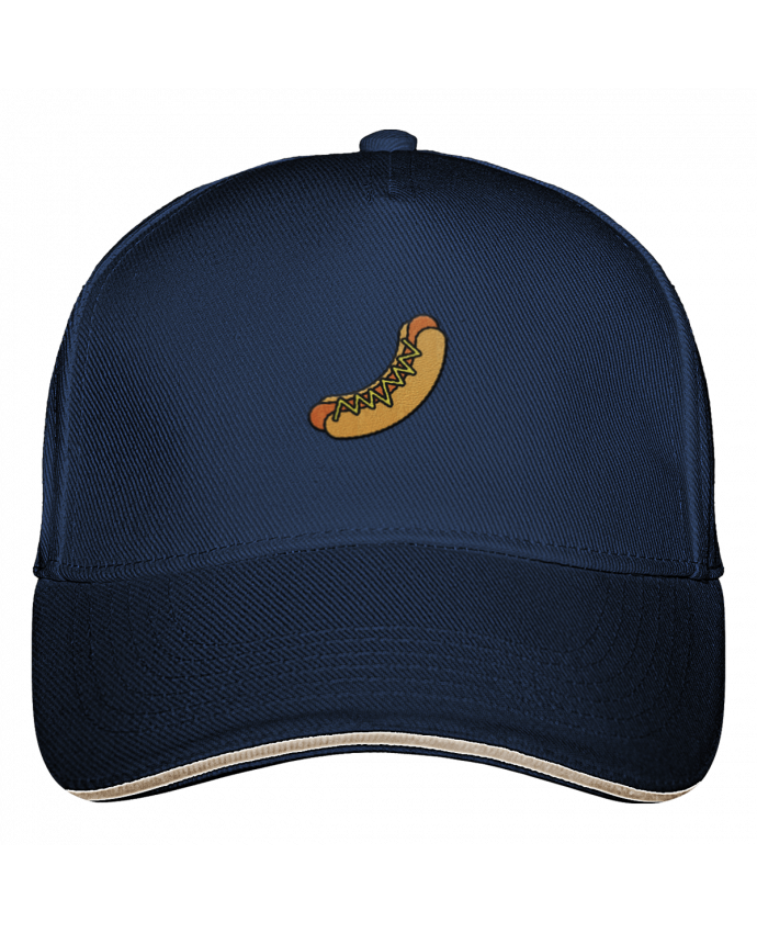 5 Panel Cap Ultimate Hot dog by tunetoo