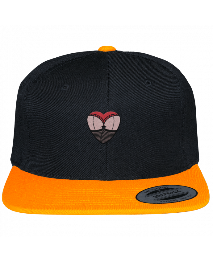 Snapback cap two-one varsity Fesses dentelle by tunetoo