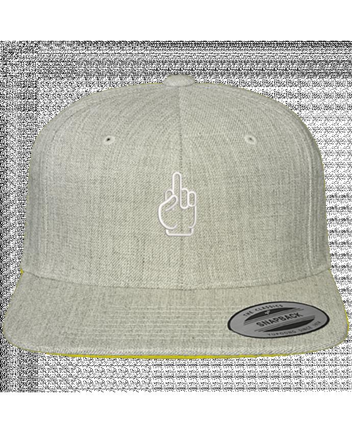 Snapback cap classique Fuck by tunetoo