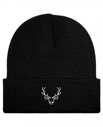 Reversible Beanie Cerf by tunetoo