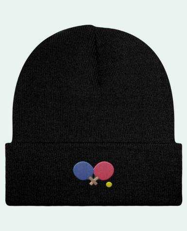 Reversible Beanie Ping Pong by tunetoo