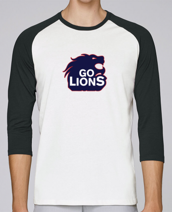 T-shirt Baseball crew-neck unisex stanley stella Go Lions by tunetoo