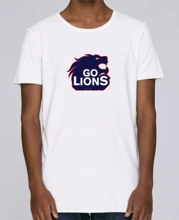 T-shirt Men Oversized Stanley Skates Go Lions by tunetoo