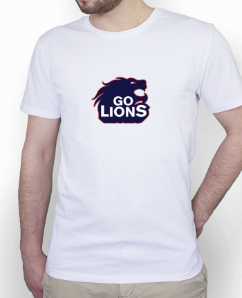 T-Shirt Men Stanley Hips Go Lions by tunetoo