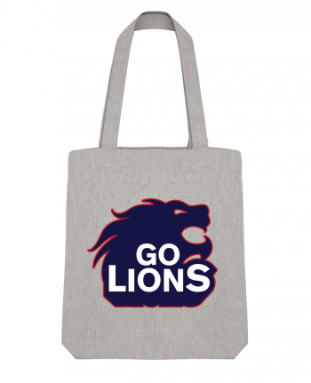 Tote Bag Stanley Stella Go Lions by tunetoo