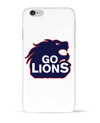 Case 3D iPhone 6 Go Lions by tunetoo