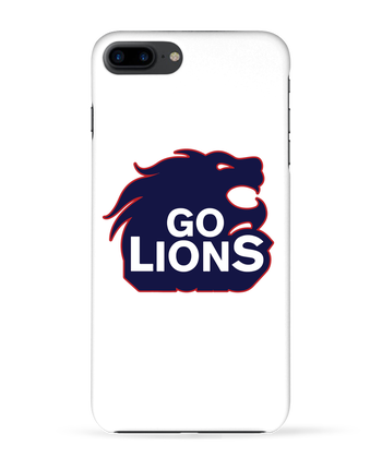 Case 3D iPhone 7+ Go Lions by tunetoo