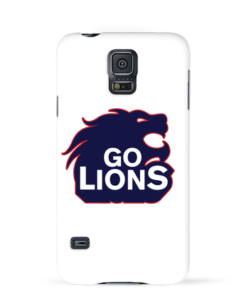 Case 3D Samsung Galaxy S5 Go Lions by tunetoo