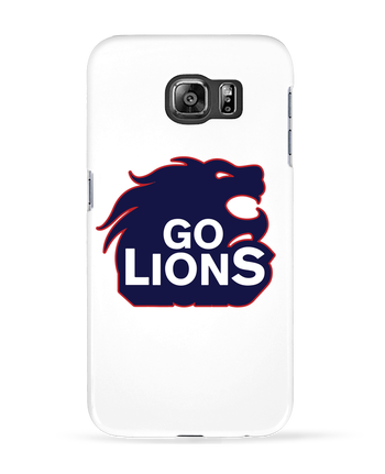 Case 3D Samsung Galaxy S6 Go Lions - tunetoo