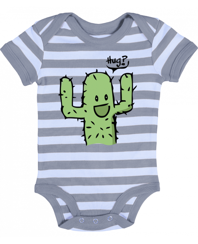 Baby Body striped cactus calin gratuit - Tête Au Carré