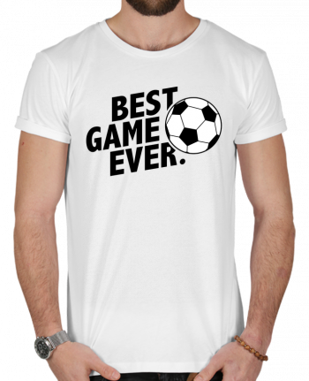 T-Shirt Men 180g BEST GAME EVER Football by tunetoo