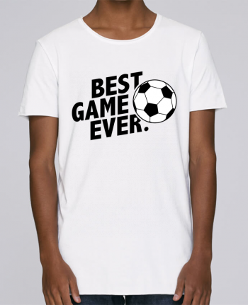 T-shirt Men Oversized Stanley Skates BEST GAME EVER Football by tunetoo
