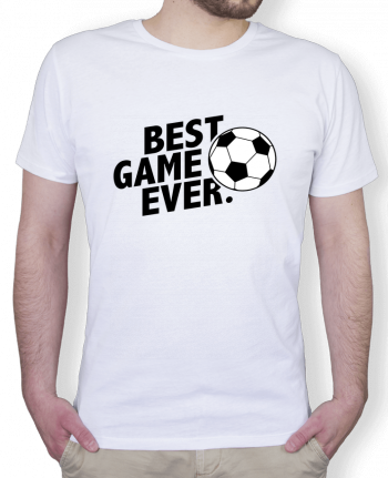 T-Shirt Men Stanley Hips BEST GAME EVER Football by tunetoo
