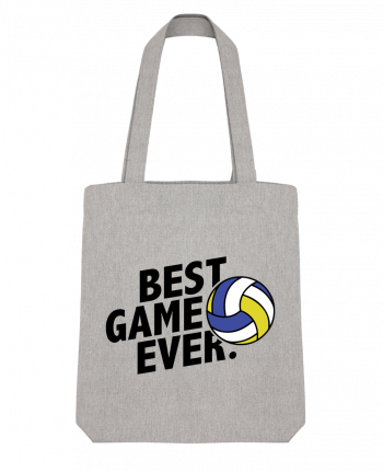 Tote Bag Stanley Stella BEST GAME EVER Volley by tunetoo