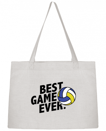 Shopping tote bag Stanley Stella BEST GAME EVER Volley by tunetoo