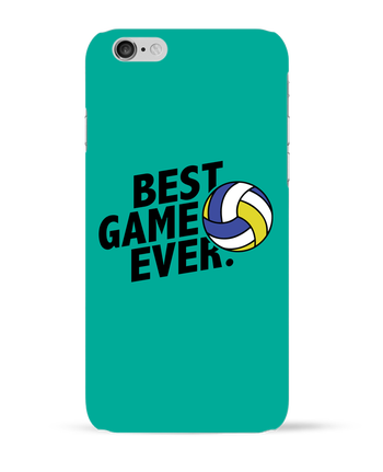 Case 3D iPhone 6 BEST GAME EVER Volley by tunetoo