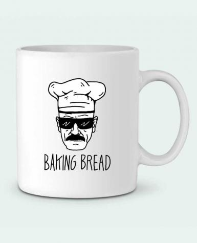 Ceramic Mug Baking bread by Nick cocozza
