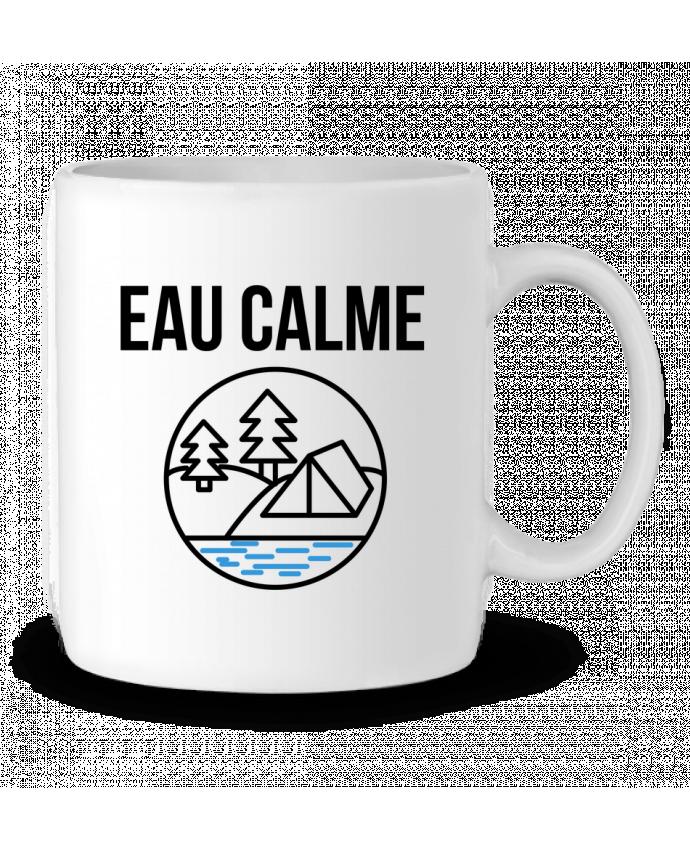 Ceramic Mug eau calme by Ruuud