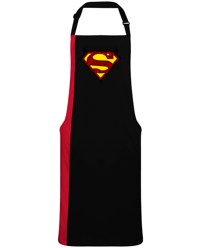 Two-tone long Apron Super Fiché by  Dontuch