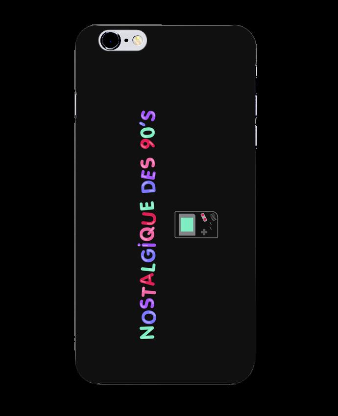 Case 3D iPhone 6+ Nostalgique 90s Gameboy de tunetoo