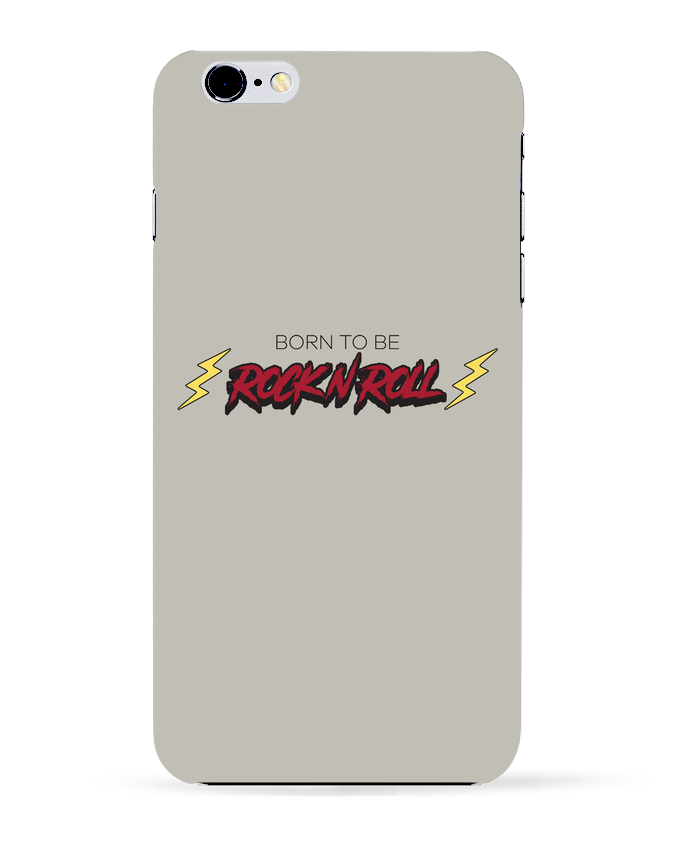 Case 3D iPhone 6+ Born to be rock n roll de tunetoo