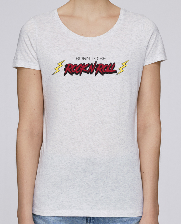 T-shirt Women Stella Loves Born to be rock n roll by tunetoo