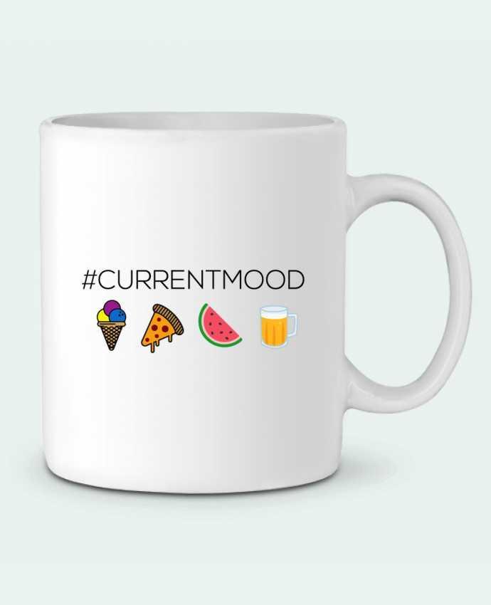 Ceramic Mug #Currentmood by tunetoo
