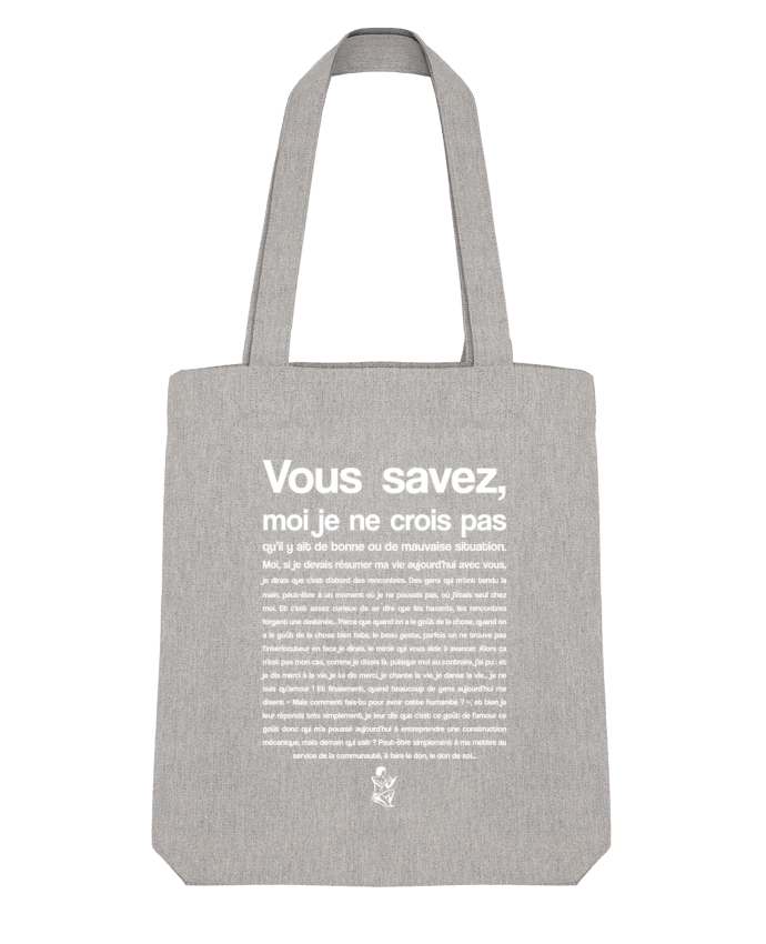 Tote Bag Stanley Stella Citation Scribe Astérix by tunetoo