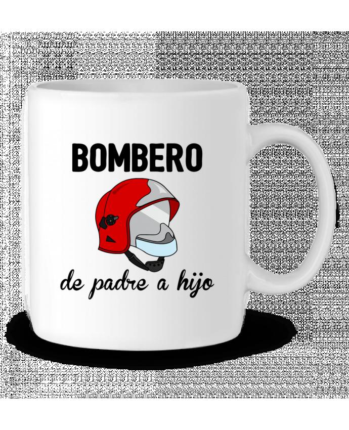 Ceramic Mug Bombero de padre a hijo by tunetoo