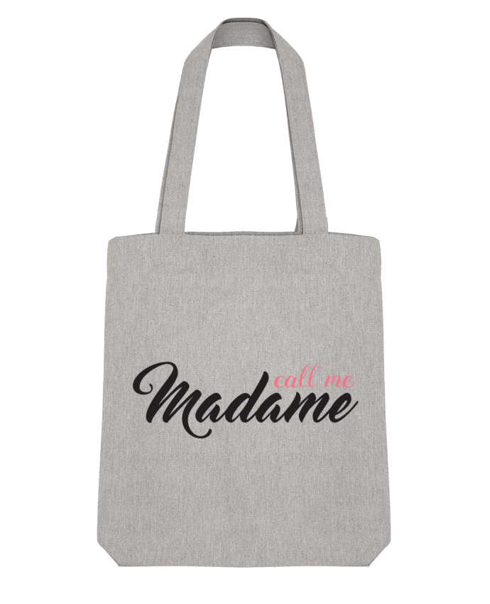 Tote Bag Stanley Stella Call me Madame by tunetoo