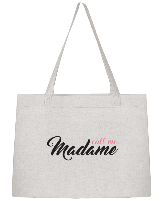 Shopping tote bag Stanley Stella Call me Madame by tunetoo