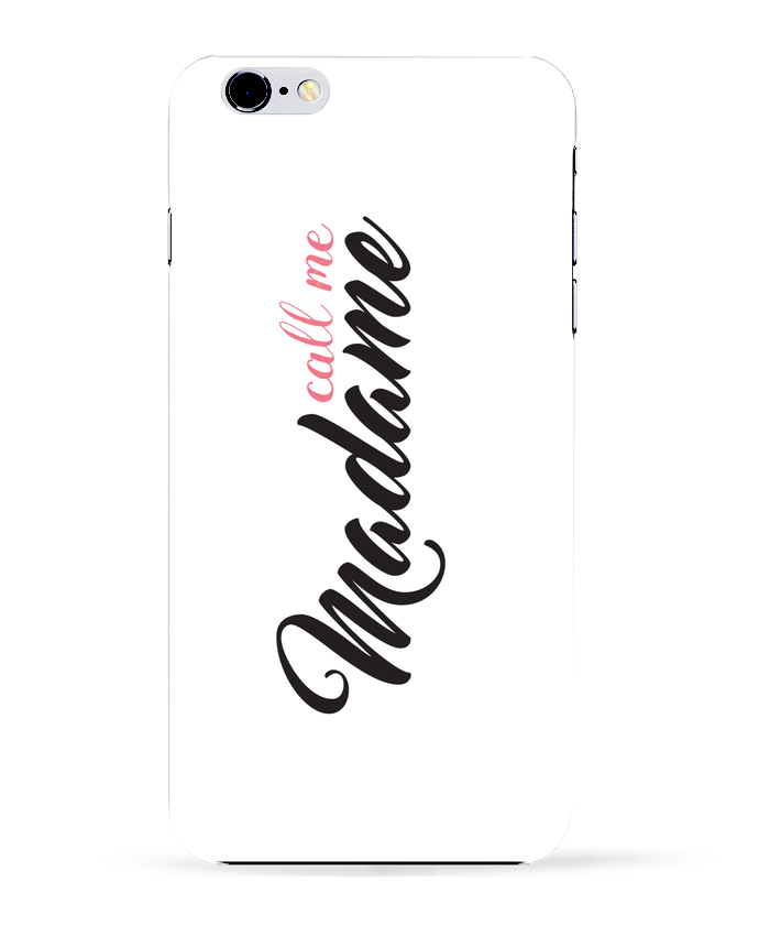 Case 3D iPhone 6+ Call me Madame de tunetoo