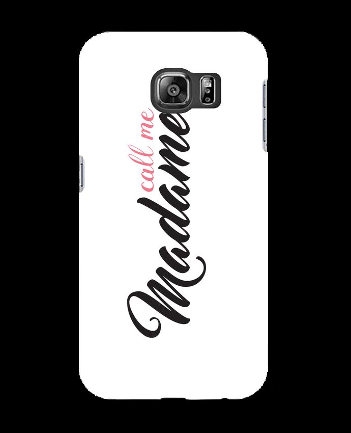 Case 3D Samsung Galaxy S6 Call me Madame - tunetoo