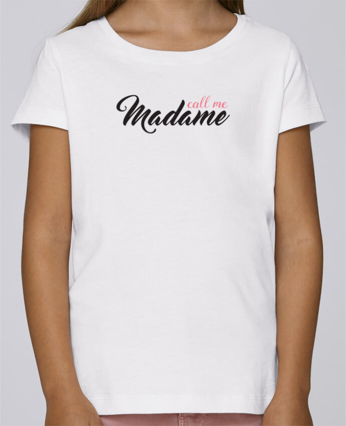 T-shirt Women Stella Draws Call me Madame by tunetoo