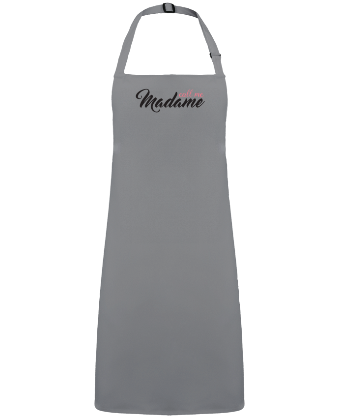 Apron no Pocket Call me Madame by  tunetoo
