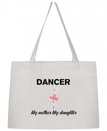 Shopping tote bag Stanley Stella Dancer like mother like daughter by tunetoo