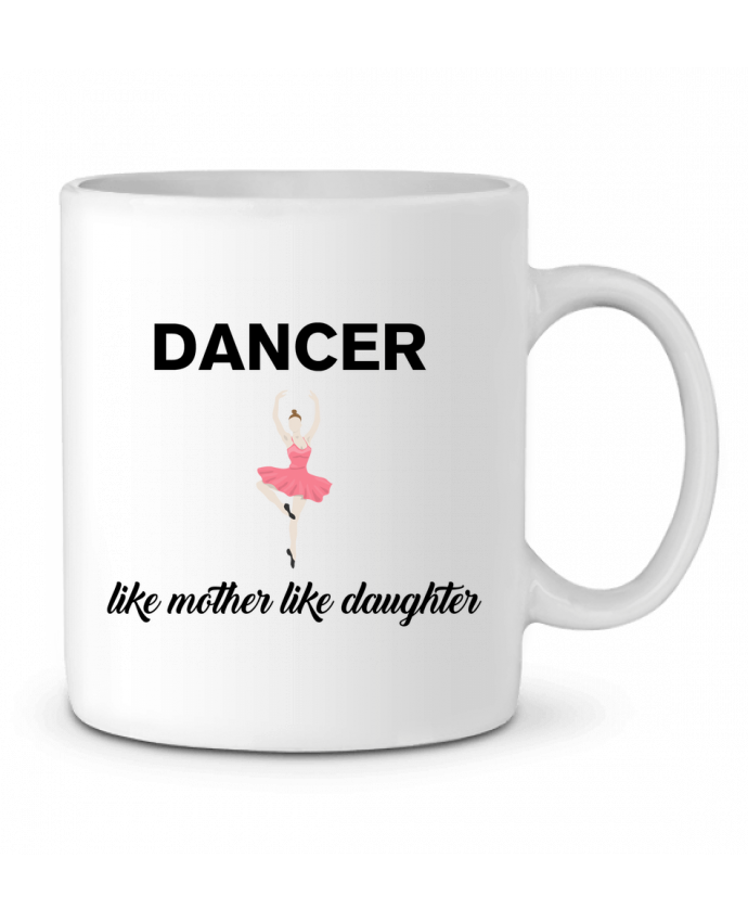 Ceramic Mug Dancer like mother like daughter by tunetoo